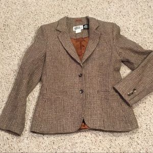 Vintage wool tweed blazer